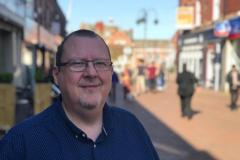 Lacey Green Ward Borough and Town Council Elections 2019: Candidate Damian Carr