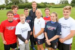 Wilmslow High students selected as Rugby World Cup ambassadors