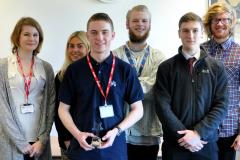 Winning apprentice goes back to school to share valuable advice