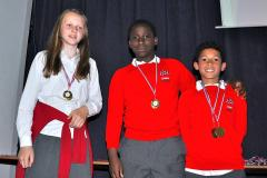 Young sports stars recognised at annual awards