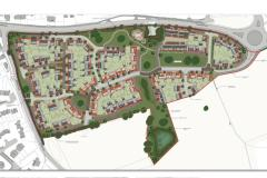 Plans for 161 homes on former Green Belt approved