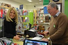 MP lends a hand at Wilmslow charity shop