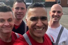 Firefighters charity carwash raises over £1000