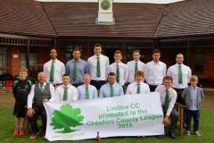 Cricket: Double celebration as both Lindow teams secure promotion