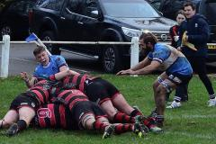Rugby: Wolves make progress despite defeat