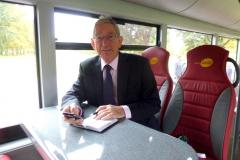 Luxury bus service launches