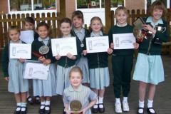 Wilmslow Prep girls in good voice