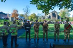 Wilmslow pays tribute to the fallen