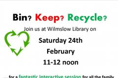 Families can learn all about recycling at half-term event