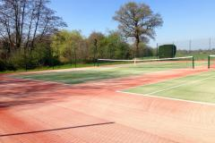 New members welcome as Heyes Lane Tennis Club unveils new courts