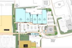 Revised plans for new retail development at Handforth Dean