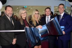 Real Housewife of Cheshire cuts the ribbon at Handforth Dean superstore