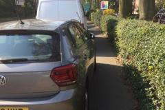 Reader's Photos: Worst ever parking at URC?