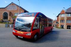 Revised timetable for free bus service to Handforth retail park