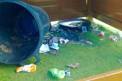 School play equipment damaged following two arson attacks