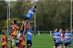 Rugby: Despite a brave effort Wolves were ground down by Sandal