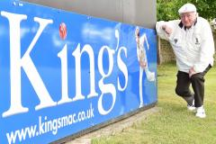 King's legend has cricket pitch named in his honour