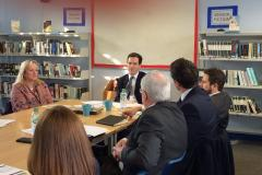 Osborne takes campaign for fairer funding to Education Secretary