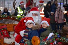 Chance for children to win a trip on Santa's sleigh