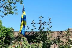 Handforth Station celebrates midsummer in Swedish style