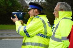 Police crackdown on speeding motorists