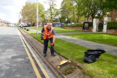 Working to make Wilmslow look blooming great