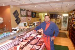 Farm butcher says roadworks have sliced takings by half
