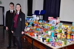 Wilmslow High continues to support food bank project