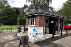 New cafe open in town park