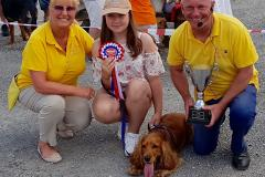 Fun dog show was a real scorcher