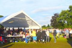 Drinking for good causes at Styal Beer Festival