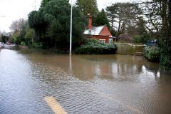 Alderley Road and Airport Relief Road closed again due to heavy rain