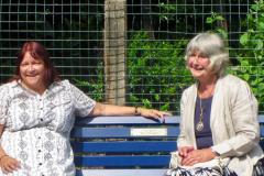 Commemorative bench unveiled for friend of Handforth Station