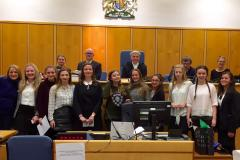 Wilmslow students triumph in court