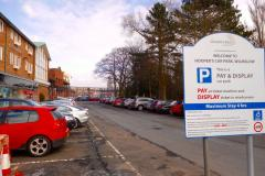Temporary suspension of car parking charges