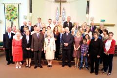 Churches celebrate continental link