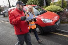 MP turns postie for the day in Wilmslow