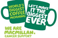 Join Jones Homes for the World's Biggest Coffee Morning