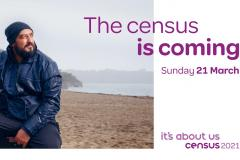 Look out for your census information pack