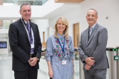 Waters hosts a visit from Tatton MP and discusses the implications of Brexit