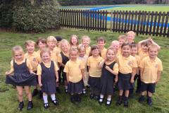 Little ones settle into big school