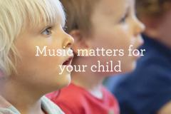 Let your child lead the way in music making