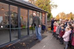 School celebrates 140th anniversary by cracking open their new library