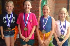 Gymnasts bring home a haul of medals