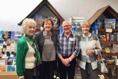 Special visitors support charity Christmas shop