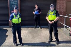 Police to provide visible presence as new lockdown rules come into force