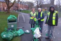 Volunteers take load of rubbish off Wilmslow streets