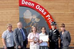 Wilmslow pupil appointed as Junior Safety Officer of the Year