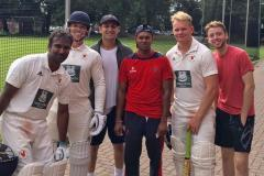 Cricket: Former West Indies captain witnesses Wilmslow win