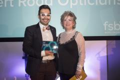 Albert Road Opticians wins regional award for Best Customer Service